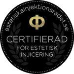Certifierad för estetisk injecering